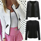 2016NEW Women Long Sleeve Casual Blazer Suit Casual Jacket Coat Outwear cardigan