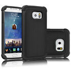 For Samsung Galaxy S6 / S6 Edge Armor Shockproof Rugged Rubber Hard Case Cover