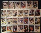 1990-91 UPPER DECK BOSTON BRUINS Select from LIST NHL HOCKEY CARDS