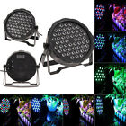 US Store LOT DJ FLAT 54 LED LIGHTS RGBW DMX512 STAGE PARTY NIGHT CLUB SHOW