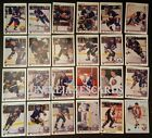 1990-91 UPPER DECK NEW YORK ISLANDERS Select from LIST NHL HOCKEY CARDS