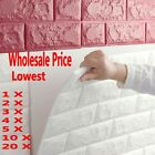 20Roll BEST PRICE 3D Brick Pattern Wallpaper Modern  Background TV Bedroom Decor