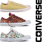 LADIES WOMENS GIRLS CONVERSE PRINTED WOVEN ALL STARS CHUCK TAYLOR TRAINERS SHOES