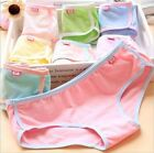 Women Solid Panties Soft Low Rise Underpants Girl Briefs Knickers Underwear