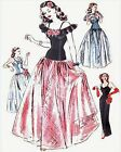 #96 HOLLYWOOD STYLE EVENING GOWNS WITH CAPELET PATTERN