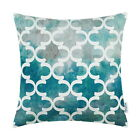 "18""X18"" CaliTime Cushion Throw Pillows Covers Gradient Lantern Geometric Decor"