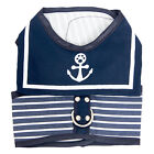 Pet Dog Harness Clothes Puppy Dog Walking Collar Strap Vest Harness Navy Design