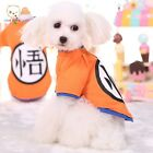 Dog Dress Summer T-shirt Famous Anime Character Puppy Dog Cute Costumes Clothes