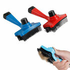 Puppy Dog Grooming Bath Massage Brush Comb Animal Fur Hair Shedding Tool Hair