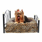 Pet Bed Small Dog Bed Metal Frame Mattress Included Pet Dog Cat Cushion Beds