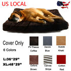 Pet Supplies - Replacement Removable Cover For Cushion Large Washable Durable Pet Soft Dog Bed