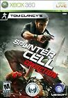 TOM CLANCY'S SPLINTER CELL: CONVICTION MICROSOFT XBOX 360 GAME COMPLETE