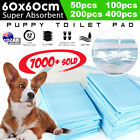 Puppy+Pet+Dog+Indoor+Cat+Toilet+Training+Pads+Absorbent+60x60cm+50%2F100%2F200%2F400
