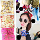 Women Ladies Pocket Silk Neck Scarf Handkerchief Wrap Headwear Gifts 14 Styles
