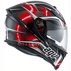 AGV K5-S Hurricane Black Red White Motorcycle Helmet