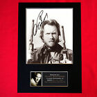 CLINT EASTWOOD Quality Autograph Mounted Signed Photo PRINT A4 5