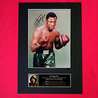 JOE FRAZIER Mounted Signed Photo Reproduction Autograph Print A4 57