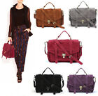 Womens Suede Vintage Messengers Handbags Fashion Briefcase Tote Bags New D461