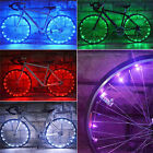 Bicycle 20 LED Bike Cycling Rim Lights LED Wheel Spoke Light String Strip Lamp