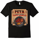 Funny T-Shirt PETA People Eating Tasty Animals Free Shipping
