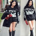 Women Casual Sport Blouse Hoodies Pullover Top Loose Hoodie Crew Neck Sweatshirt