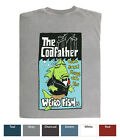 Weird Fish Printed T Shirt - The Codfather