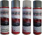 SELECTION OF 500ML AEROSOL PRIMERS FOR WOOD PLASTIC STEEL ALUMINIUM CAR BODYSHOP