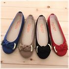 BN Womens Comfy Casual Walking Wedding Ballet Flats Ballerinas Shoes Loafers