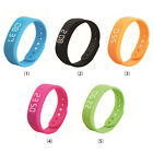 Durable W5 Smart Wristband Bracelet Pedometer Sleep Fitness Tracker Thermometer