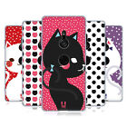 HEAD CASE DESIGNS CATS AND DOTS SOFT GEL CASE FOR SONY PHONES 1