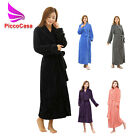 330GSM Flannel Mens and Ladies Bathrobe Belted Long Sleeves Dressing Gown