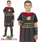Boys Roman Soldier Praetorian Guard Centurion Gladiator Fancy Dress Costume