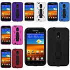 Red/Black/White/Blue Hybrid Hard Stand Case For Samsung Galaxy S II S2 i9100
