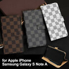 Wallet Flip PU Leather Phone Stand Case Cover For Samsung Galaxy Note5/7 A5 A7