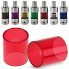 7 Colors Replacement Pyrex Glass Tube Cap Pipe For SMOK TFV4 mini Vapor Tank