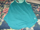 NEW black or blue Danskin Now 2Fer Tank Loose S M L U pick athletic sports top