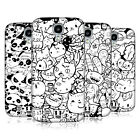 HEAD CASE DESIGNS DOODLE GALORE HARD BACK CASE FOR SAMSUNG GALAXY S4
