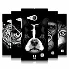 HEAD CASE DESIGNS BIG FACE ILLUSTRATED 2 BACK CASE FOR NOKIA LUMIA 730 / 735