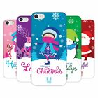 HEAD CASE DESIGNS CHRISTMAS TIDINGS HARD BACK CASE FOR APPLE iPHONE 5 5S SE