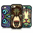 HEAD CASE DESIGNS AZTEC ANIMAL FACES HYBRID CASE FOR APPLE iPHONE 7 / iPHONE 8