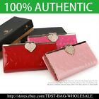 [OMNIA]Crystal Ladies Clutch Genuine Leather Purse Long Wallet Trifo369L image
