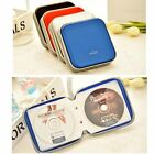 40 CD DVD Carry Case Disc Storage Holder CD Sleeve Wallet Ideal for In Car