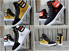 NEW 2017 Men's Shoes Fashion Leather Shoe Casual High Top Sneakers Shoes