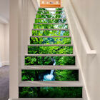 3D The dense woods Stair Risers Decoration Photo Mural Vinyl Decal Wallpaper A