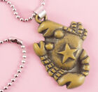P062 Acrylic pendant iron or Stainless Steel chain you pick Scorpio new