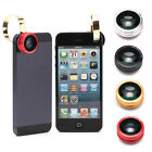 New 3 in 1 Fisheye Lens+Wide Angle+Micro Lens for Apple iPhone 4/ 4S/ 5/ 5C/5S/6