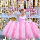 "39""X13.5"" Princess Tutu Tulle High Chair Skirt Baby Shower Birthday Party Decor"