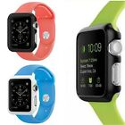 Fashion Colors Hard PC Protector Frame Case Cover For Apple Watch iWatch 38/42mm