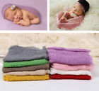 Unisex Baby Girl Boy Clothes Newborn Crochet Wrapped Blanket Photography Props