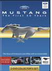 TM Books Mustang Mustang The First 50 Years DVD